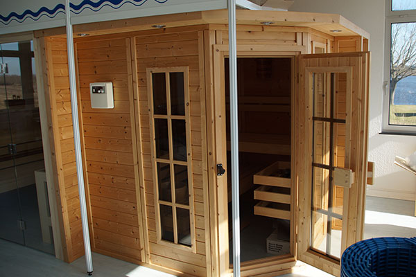 Sauna von A7Pools