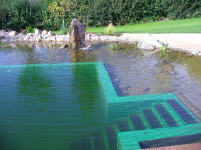 Schwimmteich mit Folie