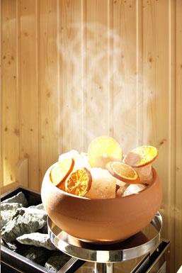 soletherme für Sauna